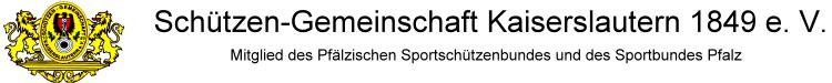 Schützen-Gemeinschaft Kaiserslautern 1849 e.V. (SGK)